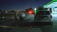 A 20-year-old man sustained non-life-threatening injuries Thursday evening
