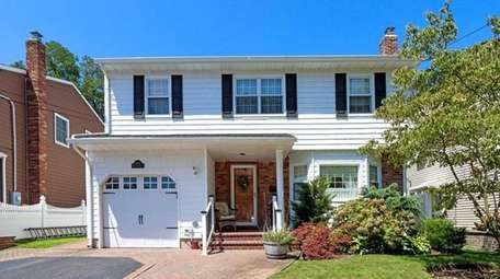 Colonial four-bedroom in Wantagh is listed for $639,000.