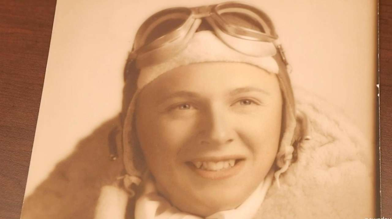 A World War II parachute, credited with saving