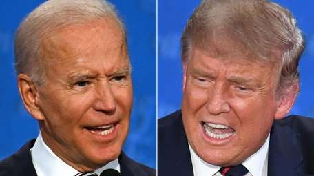 The breadth of issues facing either Joe Biden