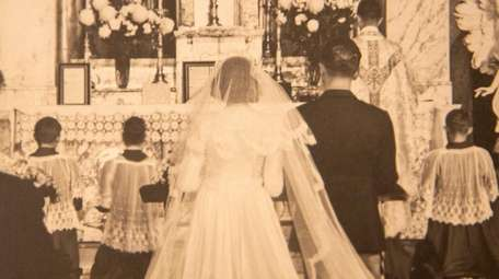 The Braets are wed in 1945. They were