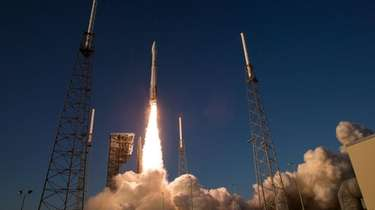 The United Launch Alliance Atlas V rocket carrying