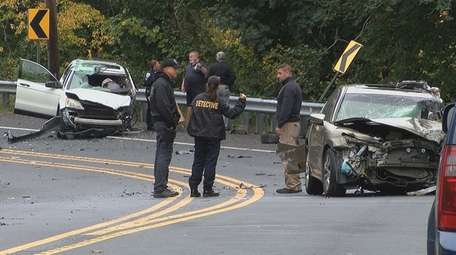 Two people were killed in a head-on collision