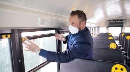 Corey Muirhead, vice president of Guardian Bus Co.