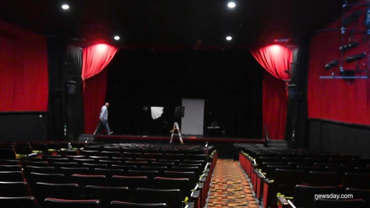 Movie theaters on Long Island are permitted to