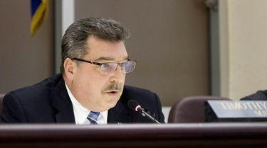 Glen Cove mayor Timothy Tenke on Feb. 20,