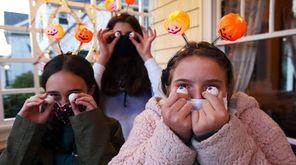 Twelve-year-old friends Anna Calabrese, Serena Halikas and Madeleine