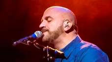 Singer-songwriter Michael DelGuidice will perform a drive-in concert