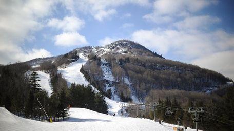 The Hunter Mountain ski resort in New York's