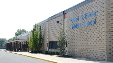 The Massapequa school district's Alfred G. Berner Middle