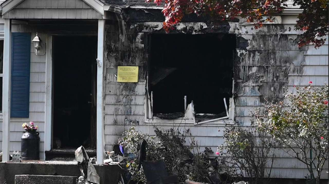A morning house fire left one man dead