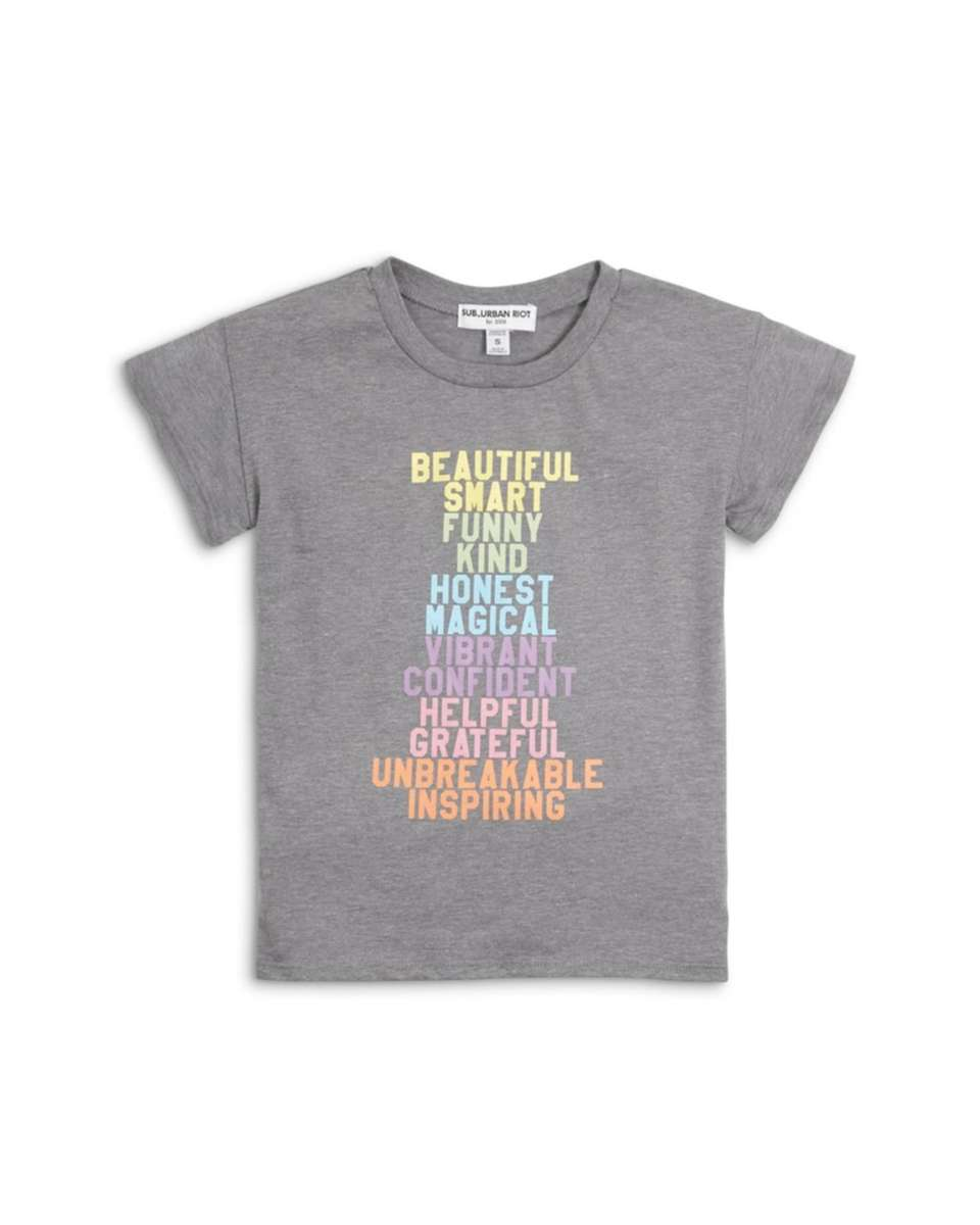 An inspiring tee for the girl who inspires