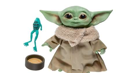 "New from Hasbro's ""Star Wars"" collection is the"