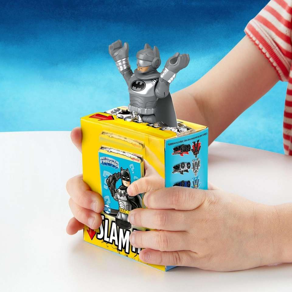Kids will love the mystery behind this boxed