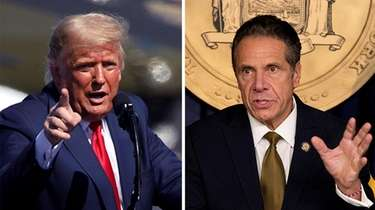 President Donald Trump had criticized New York Gov.