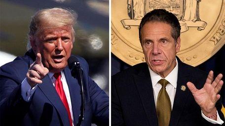 President Donald Trump had criticized New York Gov.