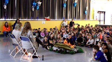 Manetuck Elementary School in West Islip created a