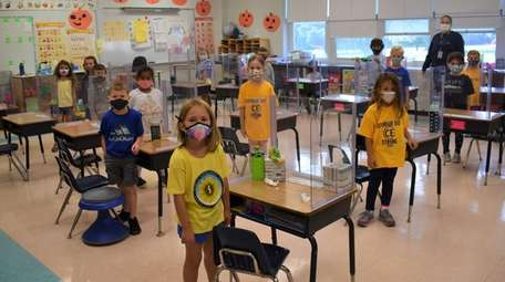 Cutchogue East Elementary School students have been demonstrating