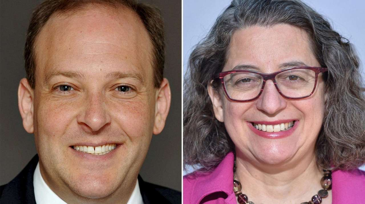 Zeldin, Goroff spar over attack ads in Congress debate