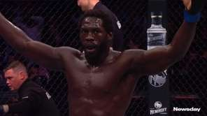 Jared Cannonier and Robert Whittaker discussed their middleweight co-main