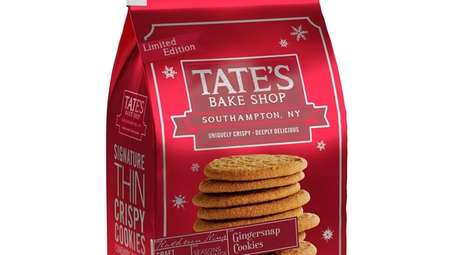 Tate's Bake Shop in Southampton launches its gingersnap