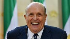Rudy Giuliani, President Donald Trump's personal lawyer, in