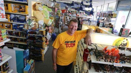 Owner Michael Timko says Fun Stuff Toys in