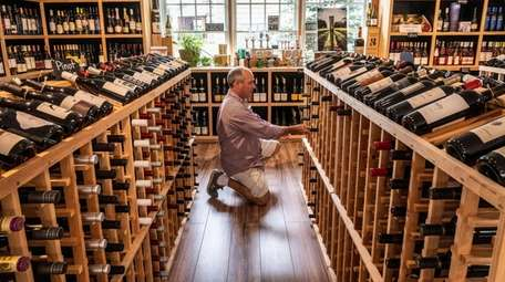 George Eldi, owner of Wines by Nature in