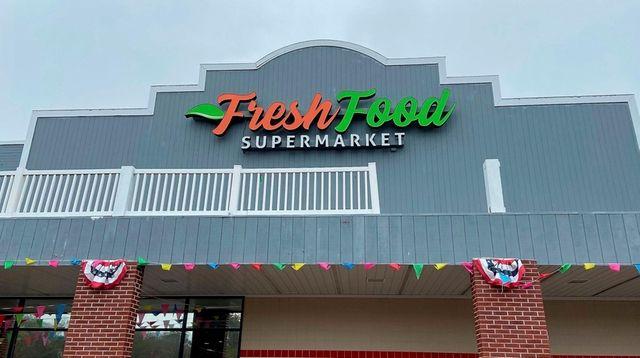 Fresh Food Supermarket on Montauk Highway in Oakdale