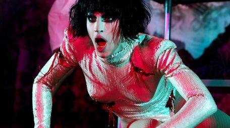 Drag performer Aquaria (the season 10 winner of