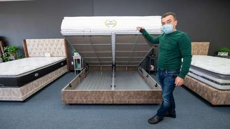 Yahya Ersoy, co-owner of Bed & Sofa in