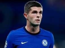Chelsea midfielder Christian Pulisic plays during the UEFA
