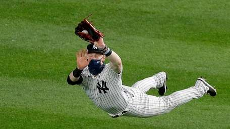 An example of Clint Frazier's imroved defense in