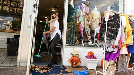 Bruna Tembelis, owner of AquaBrasil Boutique in Glen
