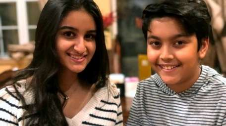 Trisha, left, Vivaan Bhanot have been making and