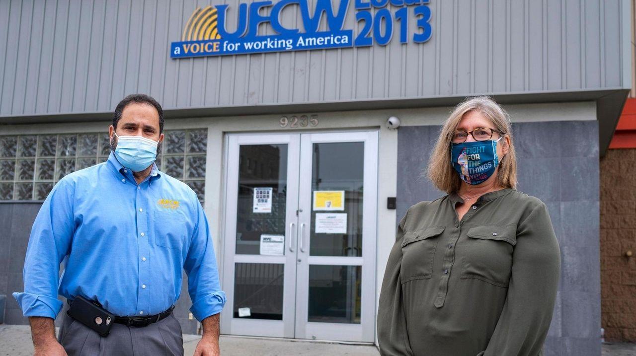 Union representatives for the UFCW Local 2013 say