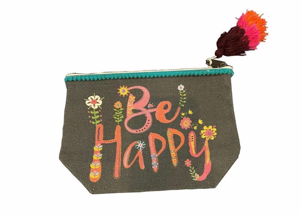 Be happy — a great message on this