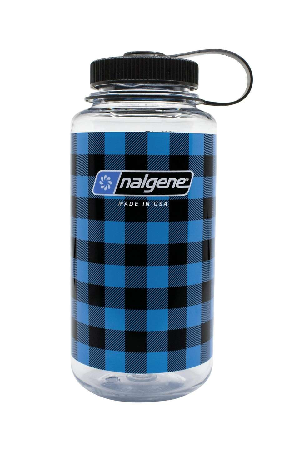 Nalgene has released four limited-edition plaid print, 32-ounce
