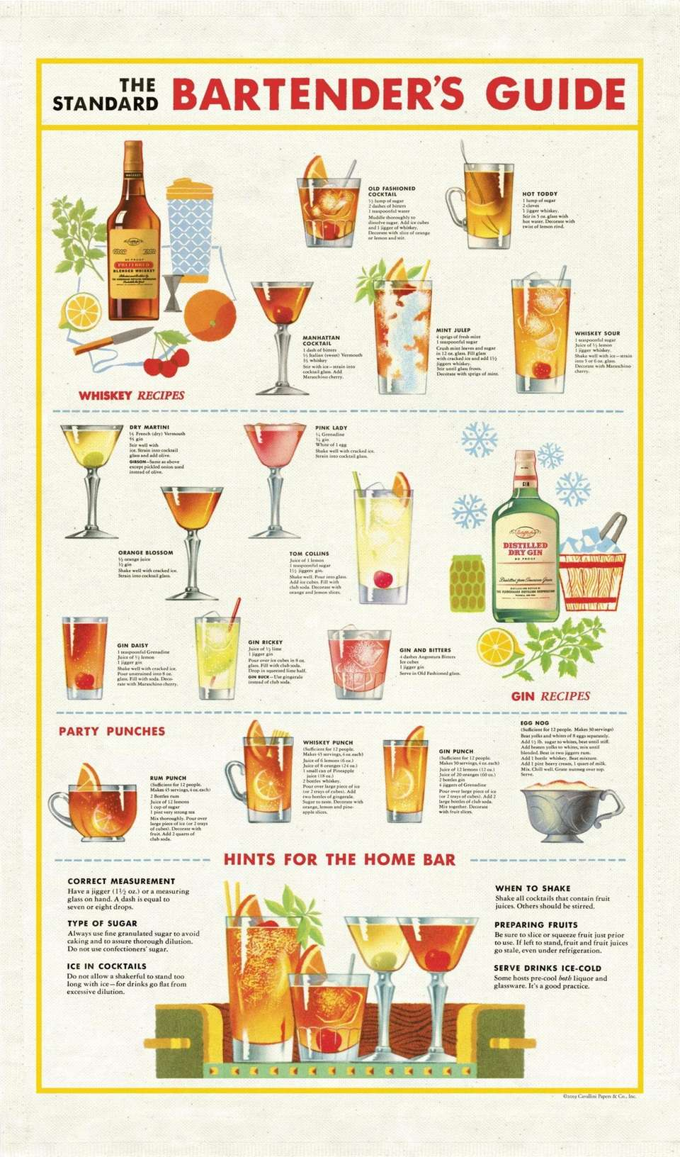 Whip up some classic cocktails at your next