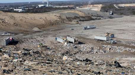 The Town of Brookhaven landfill, located off of