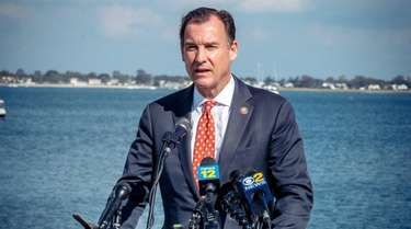 Rep. Tom Suozzi talk about political efforts made