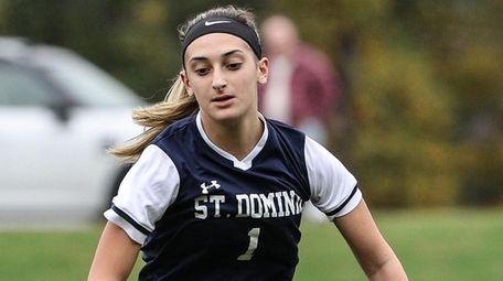 Daniella Cavallone had three goals on Senior Day