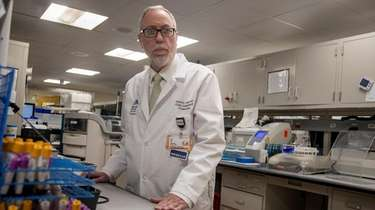 Dr. Aaron E. Glatt, chairman of medicine and