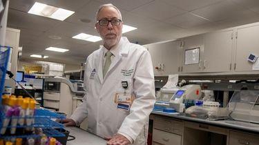Dr. Aaron E. Glatt, chairman of medicine and