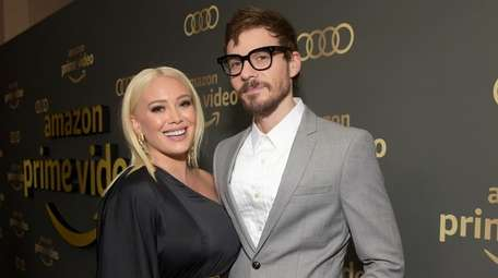 Hilary Duff and Matthew Koma attend a Golden
