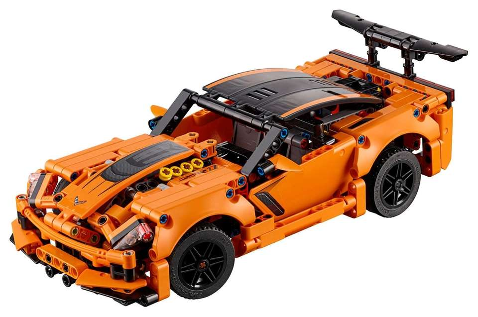 Car enthusiasts will have a blast building this
