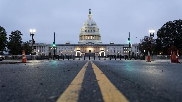 The U.S. Capitol in Washington on Monday.