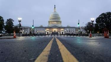 The U.S. Capitol in Washington on Monday.