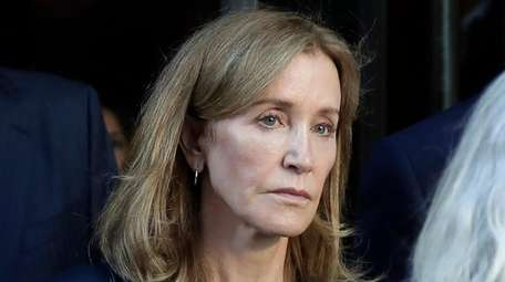 Felicity Huffman, who served time in prison last