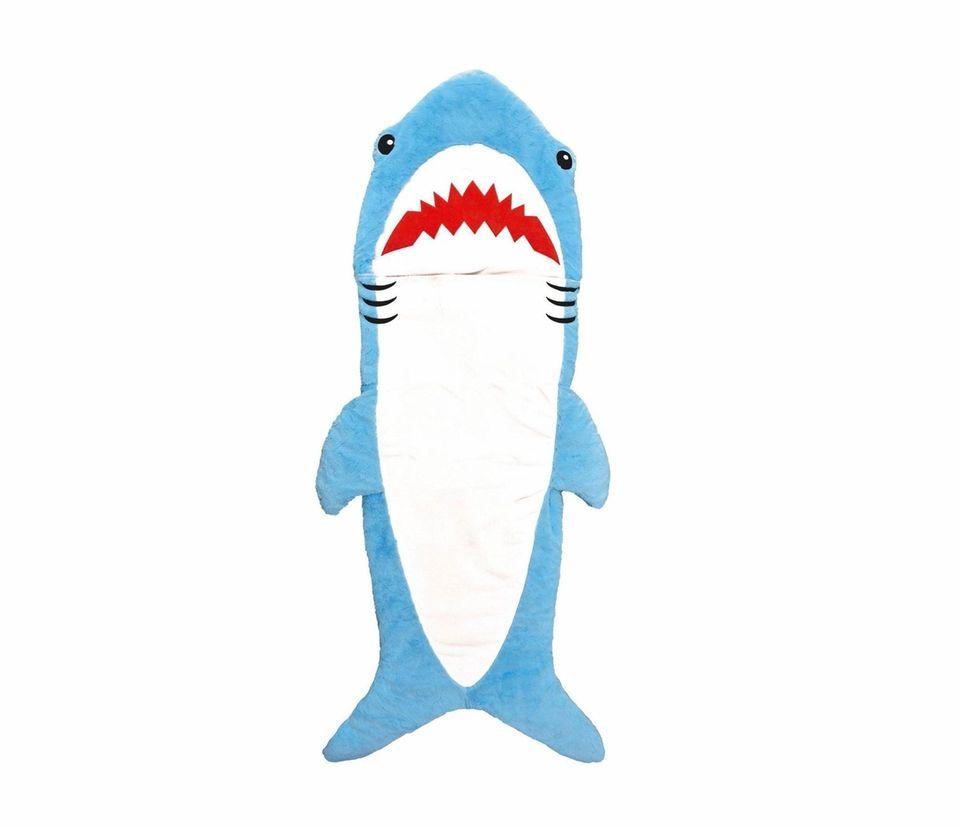 Imaginative shark sleeping bag isn't a bit dangerous